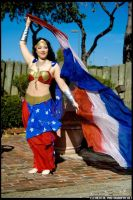 Bellydance Wonder Woman: 03 by prismkitty