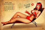 SCARLET WITCH PINUP by Nszerdy