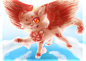 I'll spread my wings and I'll learn how to fly. by Maekii