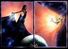Sun and Moon by LRJProductions