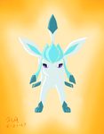 Glaceon by HarmonytRocketEeveon