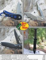 Outdoor Knives by TheHylian