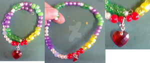 Sparity Bead Bracelet! by lcponymerch