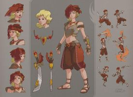 Marra Character Sheet by Nightblue-art