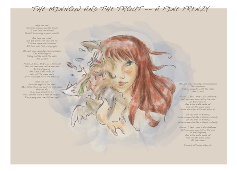 The Minnow and the Trout by kikuhito