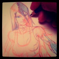 X23 Pencil Wip by joverine
