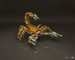 Mad scorpion Gold Edition by iuneWind