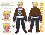 Landay Wallford Character Sheet by creamteacookie