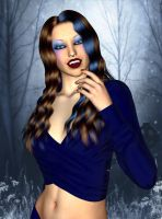 Angelina by Silverwind3D