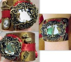 another cuff bracelet by RaheHeul