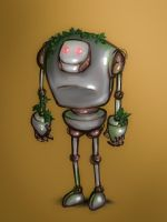 Eco-robot by Sentimenthol