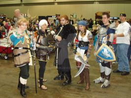 Dragon Age 2 Cosplayers by eburel506