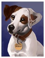 Wishbone Caricature by CharReed