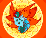 Day 10: Fire - Volcarona by avroillusion