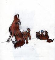 The mother wolf. by ShadowsLie