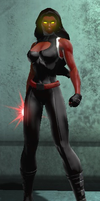 Red She-Hulk (DC Universe Online) by Macgyver75