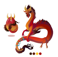 Hatched Dragon Egg 001 by Mythka
