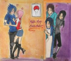 mikoto plays matchmaker by Stray-Ink92