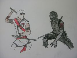Storm Shadow and Snake Eyes: G.I Joe Renegades by Writingangel2010