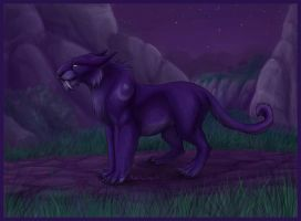 WoW cat - Colored by tigon