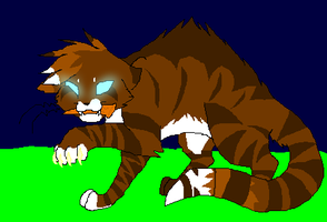 The Animal Hawkfrost Has Become by PI0SON