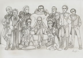 Phantom Phamily Photo Sketch by Chrissyissypoo19