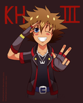 Sora is back by BluStarPencil