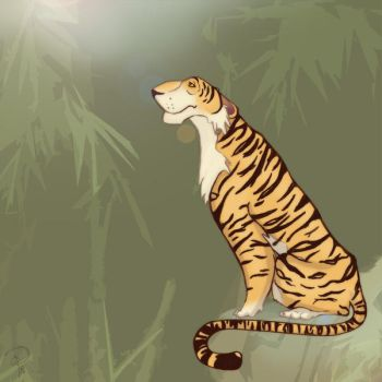 Tiger by Peachified