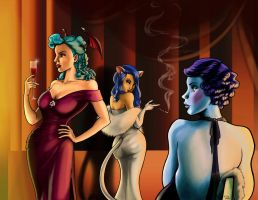 Darkstalkers - Deadly Dames by RayOcampo