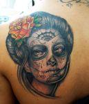 Day of the dead portrait by Studio617