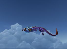 My Cloud Serpent by equusamor