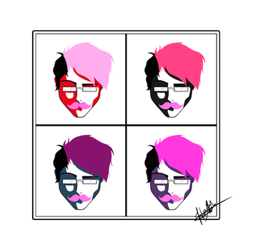 Andy Warhol Mark design by 6stringRaven