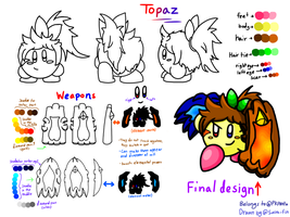 Topaz character sheet by swim-fin