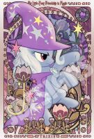 Pony Trixie Art Nouveau by jdesigns79