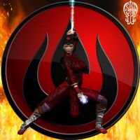 Azula of the Fire Nation by Chup-at-Cabra