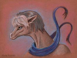 Stifo the dragon by AlviaAlcedo