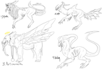 Old OC concepts for sale [4/4] by n-uII