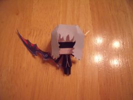 Papercraft Chibi Riku by Drawingdude1098
