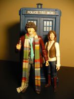 Fourth Doctor and Sarah Jane by DoctorWhoNC