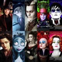 Johnny Depp and Helena Bonham Carter by alycxtopmay