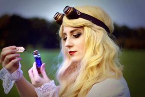Steampunk Alice in Wonderland - 10 by bulleblue
