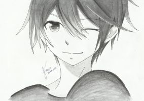 Anime boy by Jacqueline-Andreia