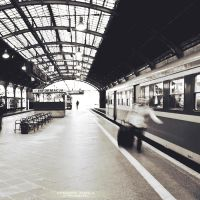 Train station by DominikaAniola