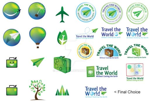 Travel the World Logo Board by ACampion