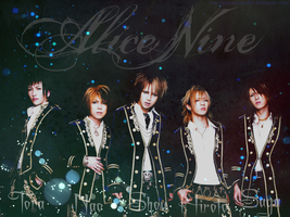 Alice Nine Wallpaper by ParanoiaGod69