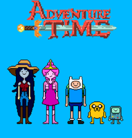Adventure Time: What Was Missing sprite sheet by Silverhammer37