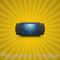 Sony Playstation Portable by cruzerDESIGN