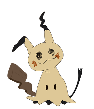 Mimikyu by Light-Triforce