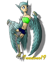 30 Day Monster Girl Challenge: Harpy by Inudono19