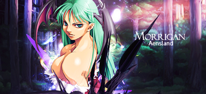 Morrigan Aensland_Tag by Elpida-Wood